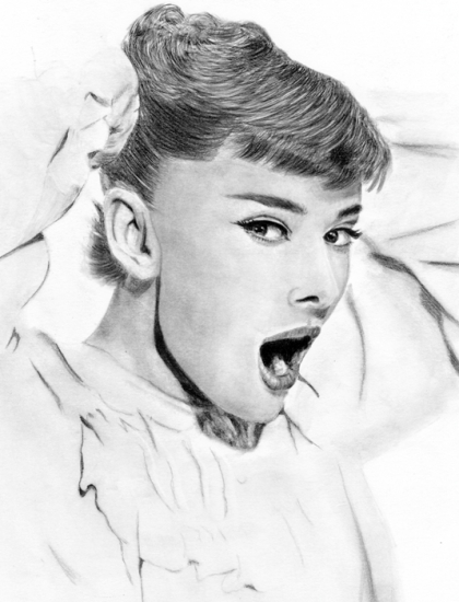 Audrey Hepburn por Castia